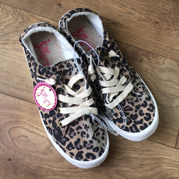 Jellypop Shoes | Jellypop Leopard Slip